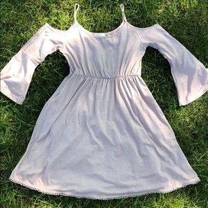 Flowy boho pink/ purple dress